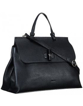 Gucci Bamboo Daily Black Large Bag Turnlock Single Handle Cool Style Price In Thailand Women